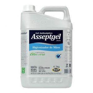 ÁLCOOL GEL ASSEPTGEL 4,3Kg