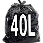 SACO DE LIXO 40L C/100